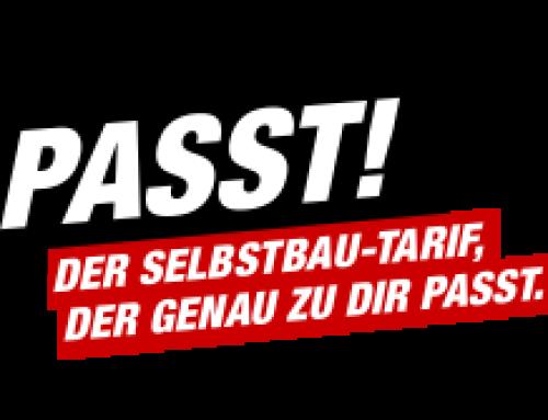 PASST! Der Selbstbau-Tarif