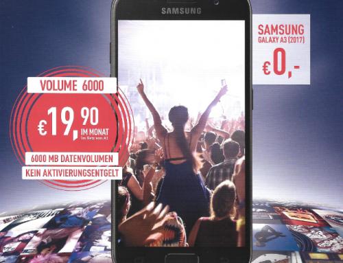 Samsung Galaxy A3 RedBull Mobile (A1)