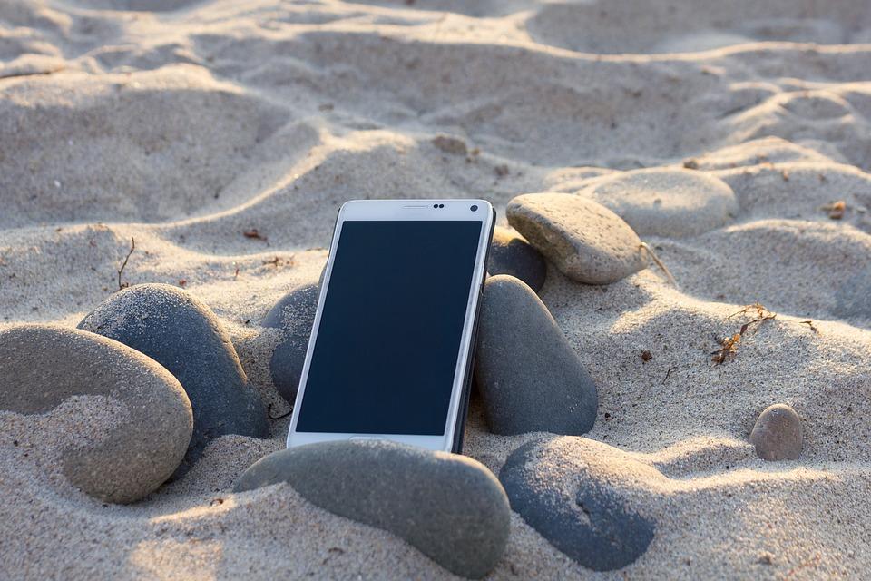 smartphone-am-strand