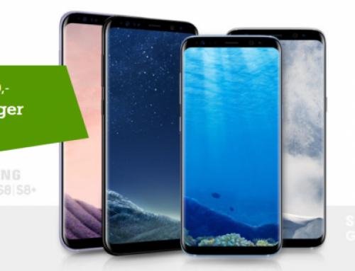 Samsung Galaxy S8 bis zu 200 € günstiger
