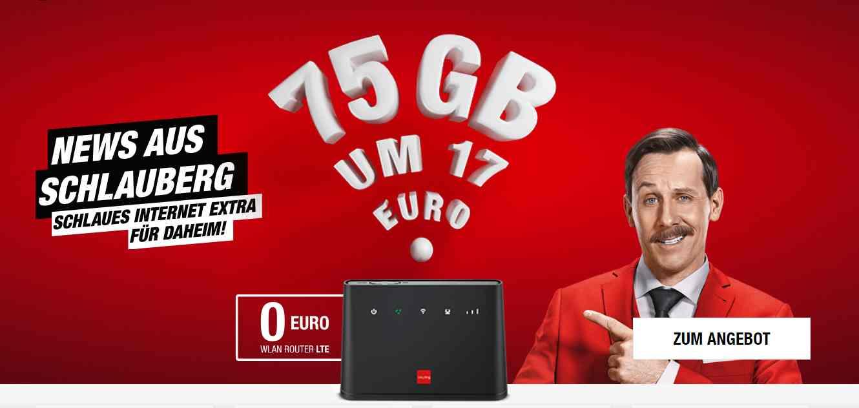 75GB um €17 pro Monat