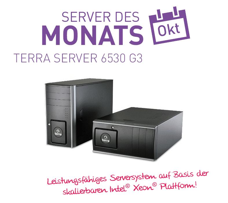 TERRA Server 6530 G3 – Oktober Aktion