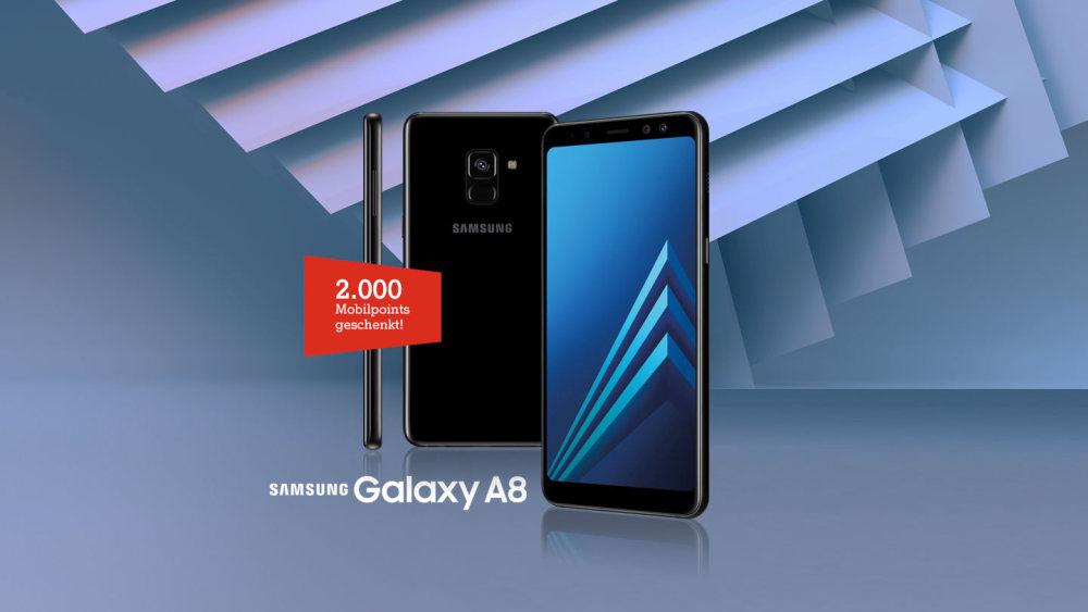 Samsung Galaxy A8 ist Handy des Monats November