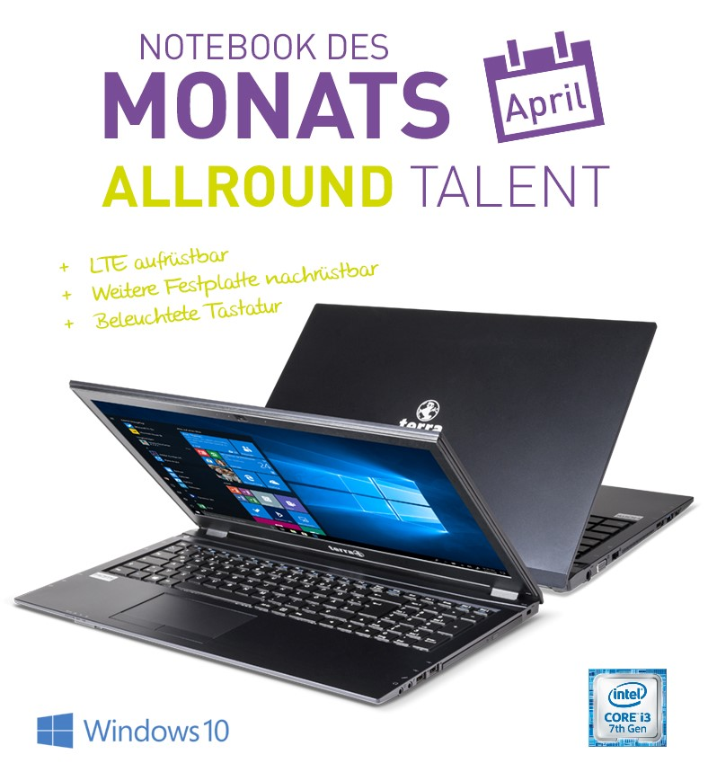 CTK Notebook des Monats April 2019