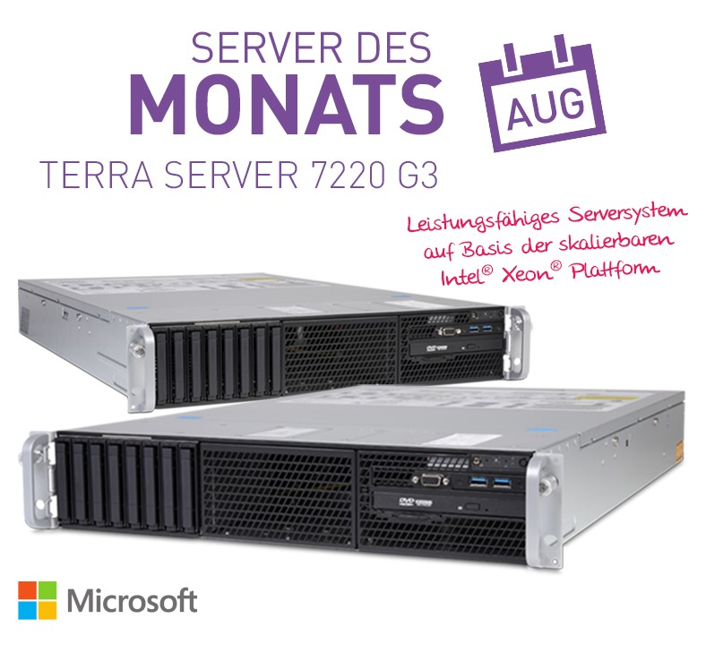 SSD TERRA SERVER August Aktion
