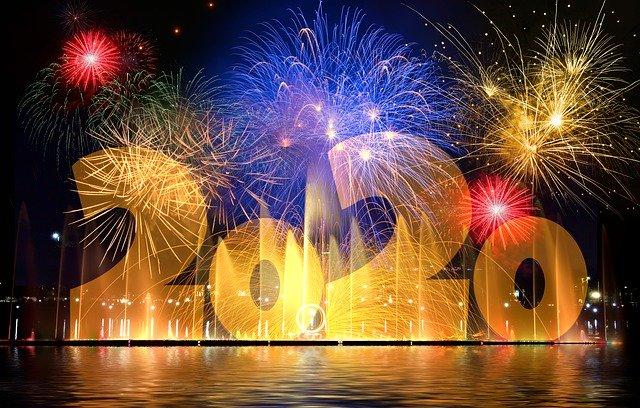 Neujahrsgrüße zu Silvester 2019