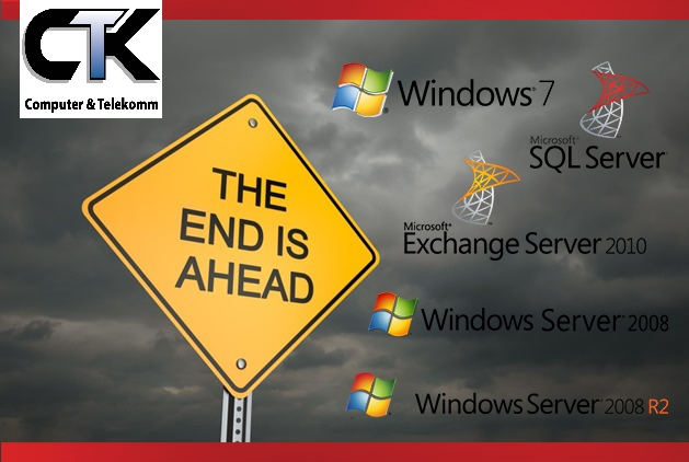 Windows 7 EOL – Windows Server 2008 EOL