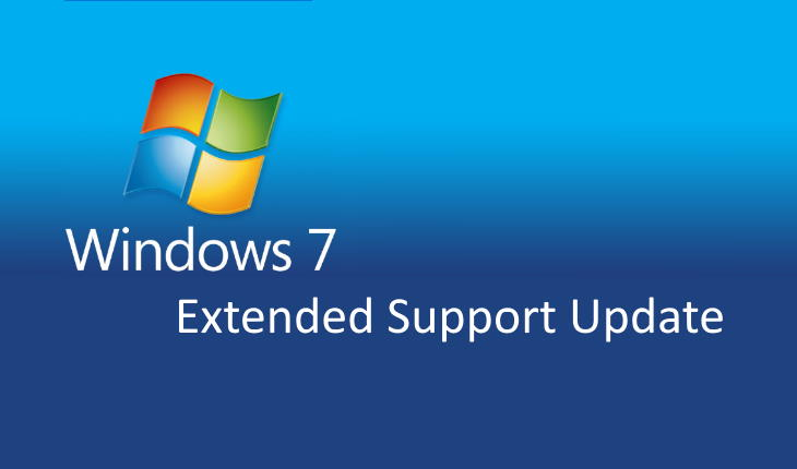 Windows 7 Extended Security Updates 2020