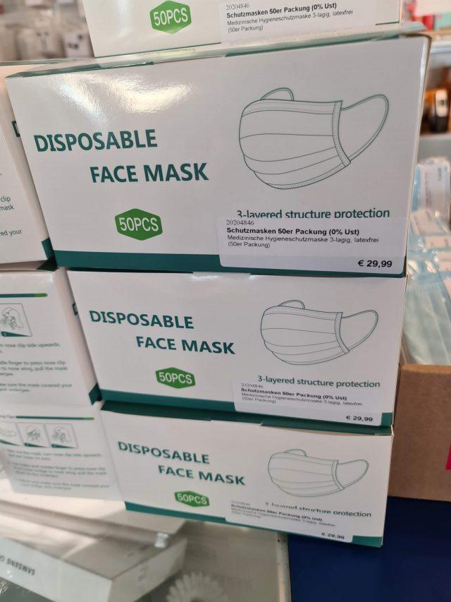 Aktion Schutzmasken 50er Pack