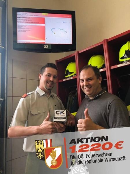 Aktion 1220 – Feuerwehren kaufen Regional